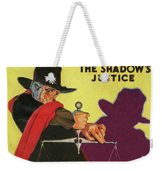 The Shadow The Shadows Justice Weekender Tote Bag