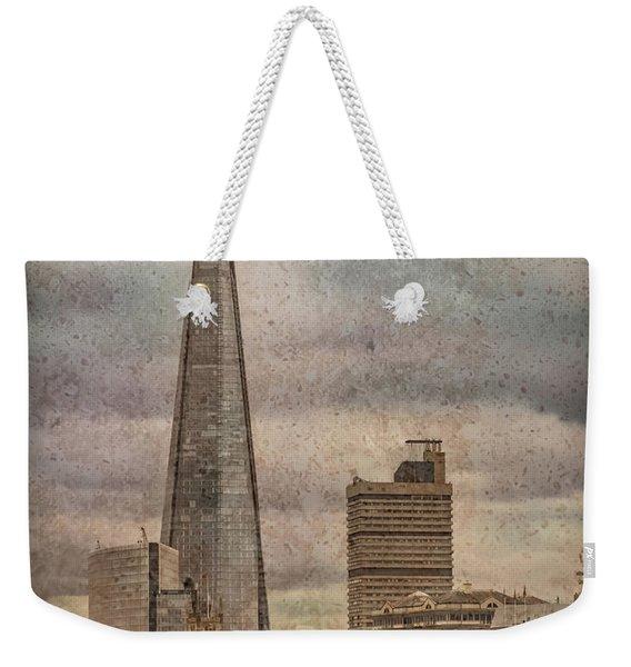 London, England - The Shard Weekender Tote Bag