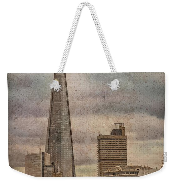 London, England - The Shard Weekender Tote Bag