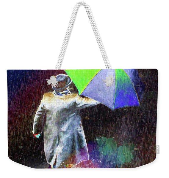 The Sheer Joy Of Puddles Weekender Tote Bag