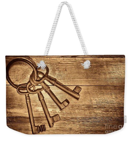 The Sheriff Jail Keys Weekender Tote Bag