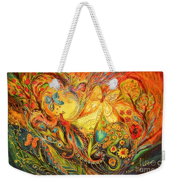The Shining Of The Summer Weekender Tote Bag