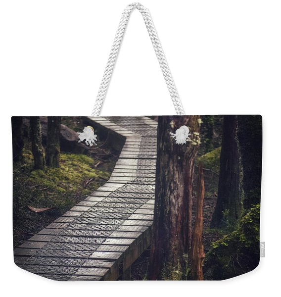 The Shining Path Weekender Tote Bag