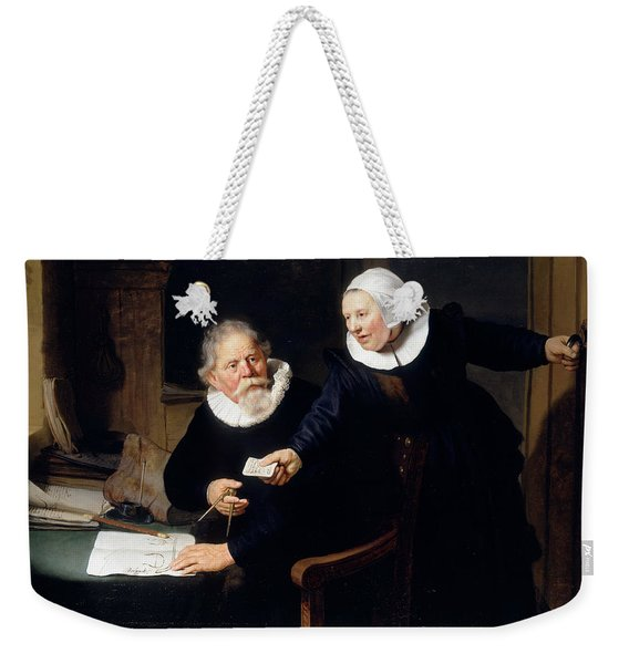 The Shipbuilder And His Wife Weekender Tote Bag