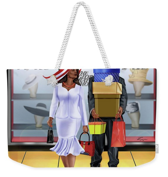 The Shopping Spree In Style Weekender Tote Bag
