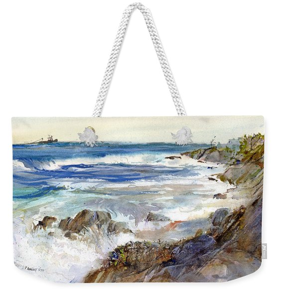 The Shores Of Falmouth Weekender Tote Bag