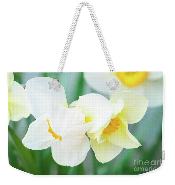 The Shy Couple Weekender Tote Bag