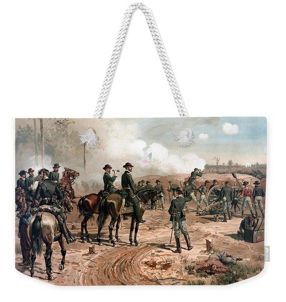 The Siege Of Atlanta Weekender Tote Bag