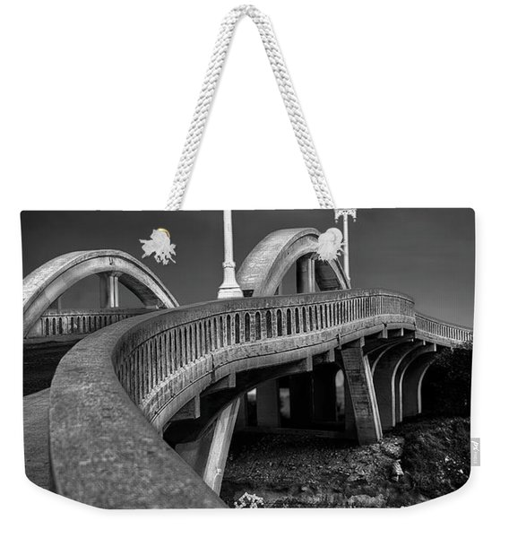 The Sierra Vista Bridge Of Roseville Weekender Tote Bag