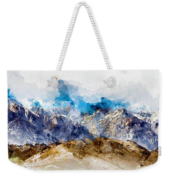 The Sierras Weekender Tote Bag