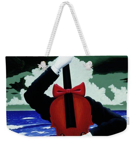 The Silent Soloist Weekender Tote Bag