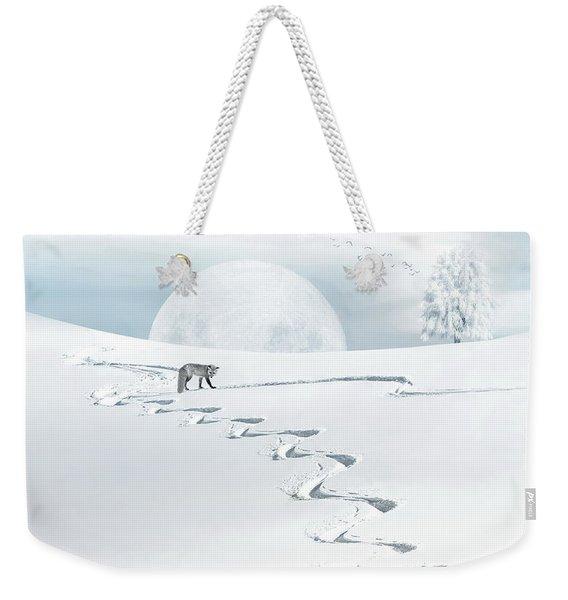 The Silver Fox Weekender Tote Bag