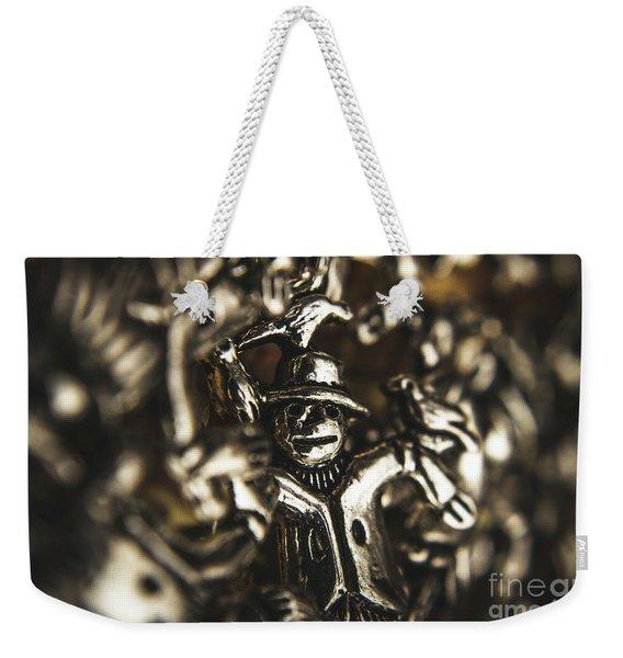 The Silver Strawman Weekender Tote Bag