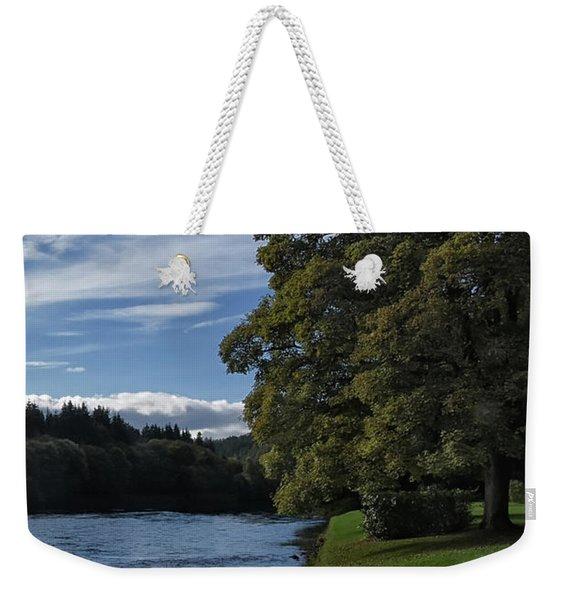 The Silvery Tay By Dunkeld Weekender Tote Bag