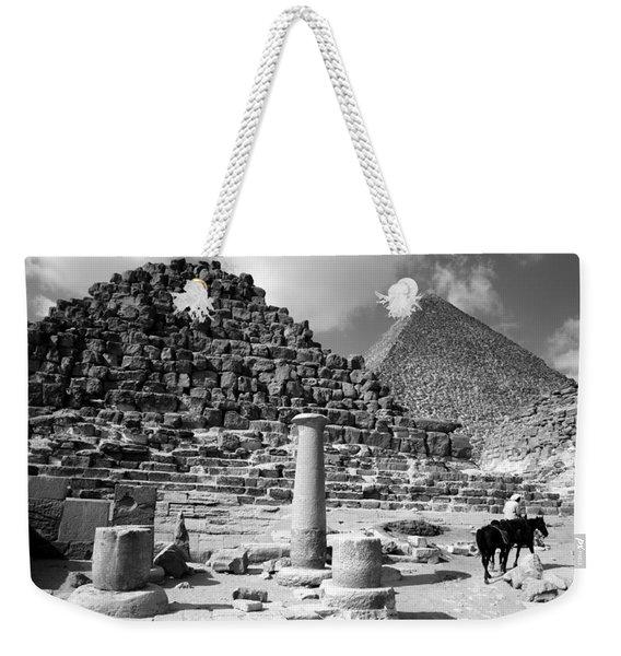 The Single Column Weekender Tote Bag