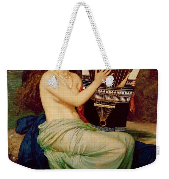 The Siren Weekender Tote Bag