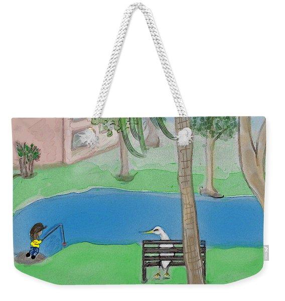 The Sitter Weekender Tote Bag