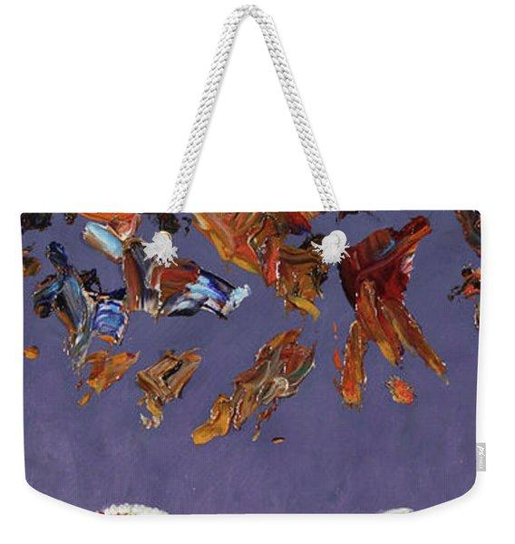 The Sky Is Falling Weekender Tote Bag