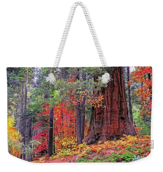 The Small And The Mighty Weekender Tote Bag