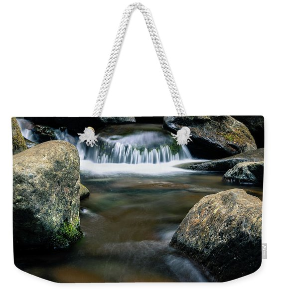 The Smallest Waterfall Weekender Tote Bag