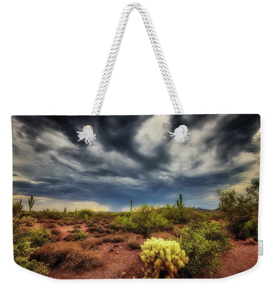 The Smell Of Rain Weekender Tote Bag