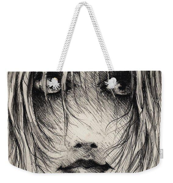 The Smirk Weekender Tote Bag