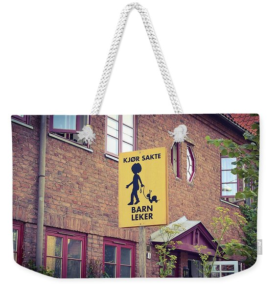 The Snail Kid Weekender Tote Bag