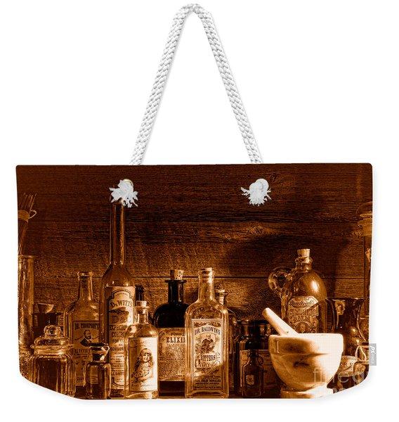The Snake Oil Shop - Sepia Weekender Tote Bag