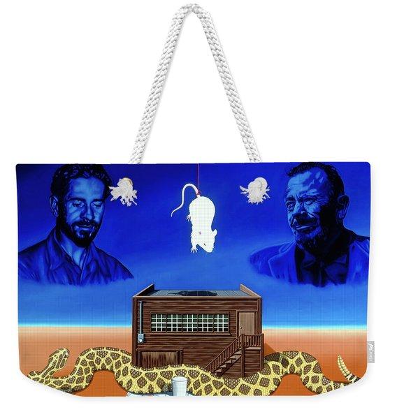 The Snake Weekender Tote Bag