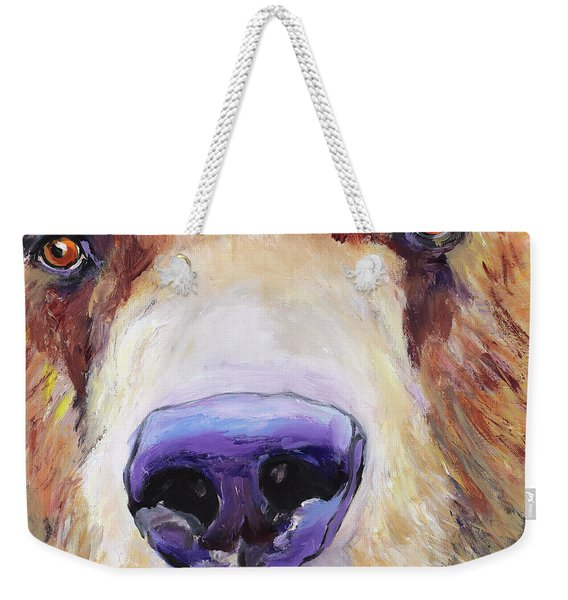 The Sniffer Weekender Tote Bag