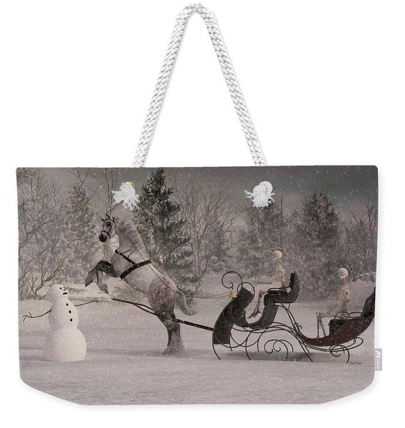 The Snowman Weekender Tote Bag