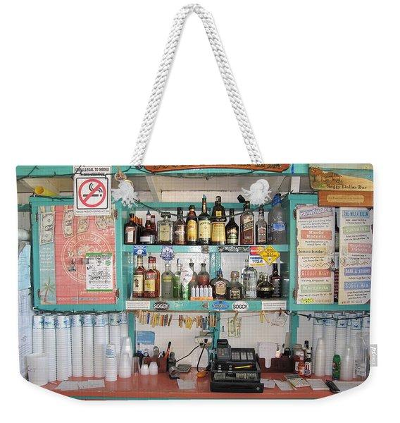 The Soggy Dollar Bar Weekender Tote Bag
