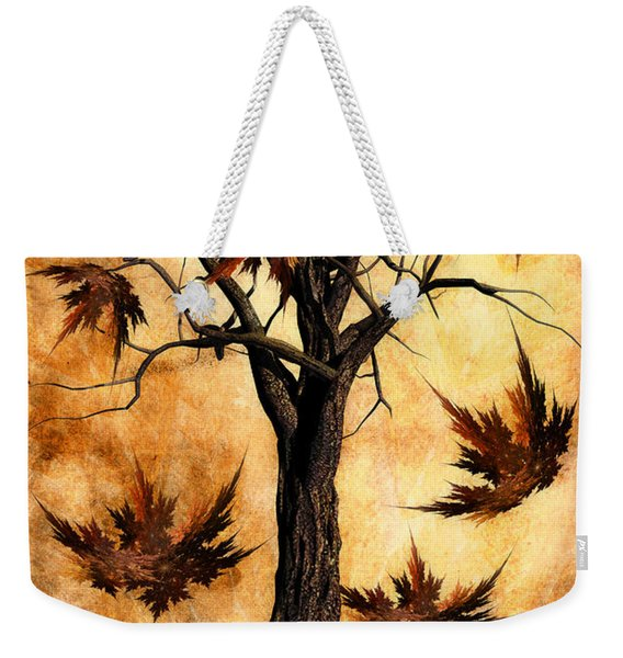 The Song Of Autumn Weekender Tote Bag