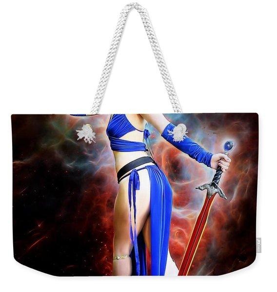 The Sorceress And The Sword Weekender Tote Bag
