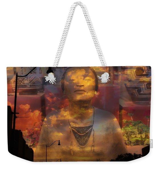 The Soul Of Santa Fe Weekender Tote Bag