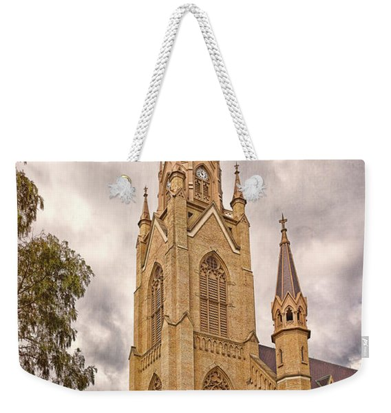 The Soul Of The Campus Weekender Tote Bag