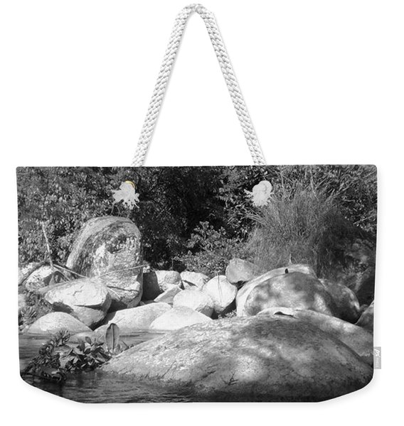The Soul Of The River Weekender Tote Bag