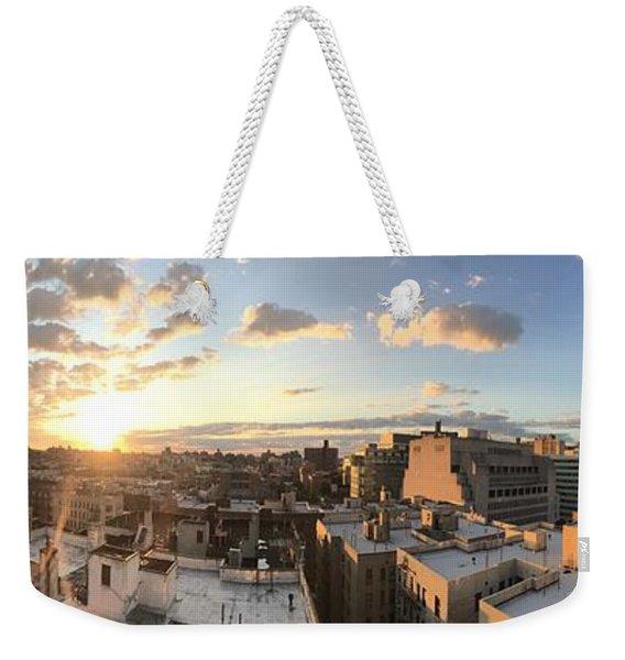 The Bronx Morning Weekender Tote Bag