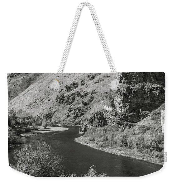 South Fork Boise River 3 Weekender Tote Bag