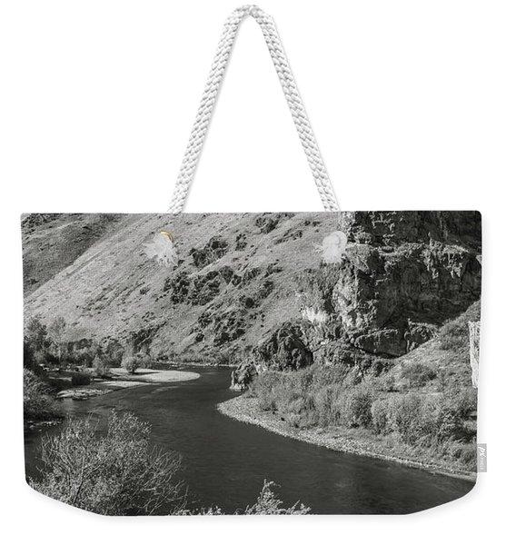 South Fork Boise River 3 Weekender Tote Bag