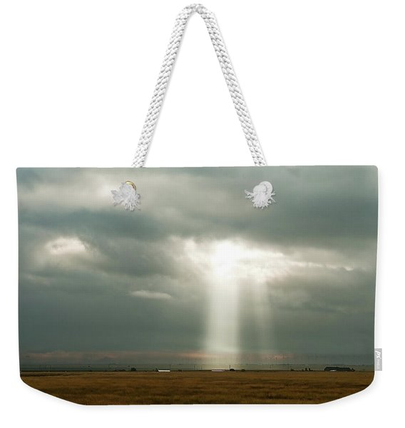 Weekender Tote Bag featuring the photograph The Spectre by Scott Cordell