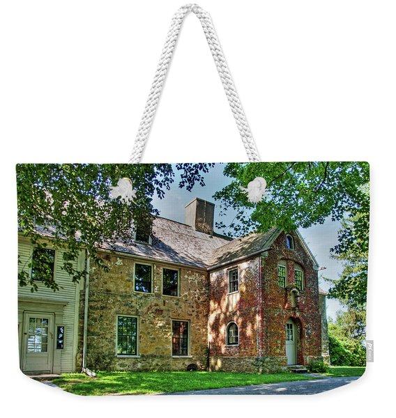 The Spencer-peirce-little House In Spring Weekender Tote Bag