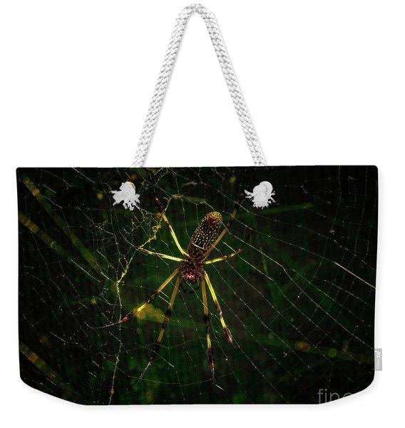 The Spider Weekender Tote Bag