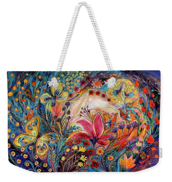The Spiral Of Life Weekender Tote Bag