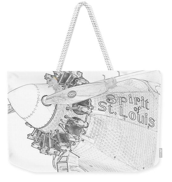 The Spirit Weekender Tote Bag