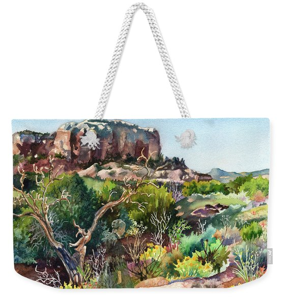 The Spirit Of Ghost Ranch Weekender Tote Bag
