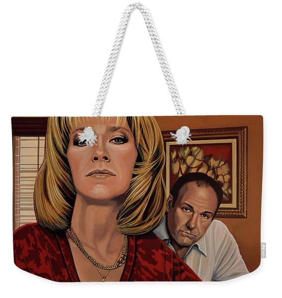 The Sopranos Painting Weekender Tote Bag