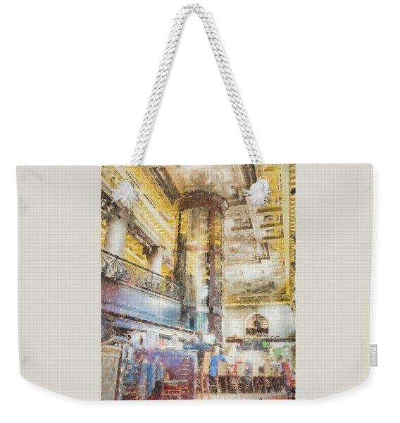The Sprial Wine Cellar Weekender Tote Bag