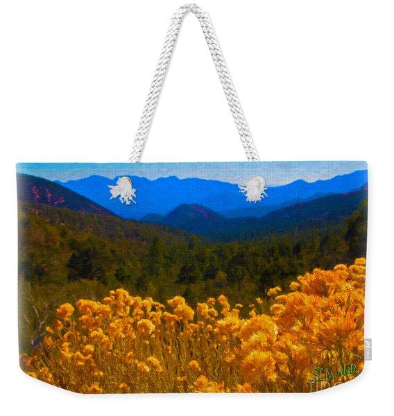 The Spring Mountains Weekender Tote Bag