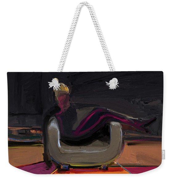 The Spy Weekender Tote Bag
